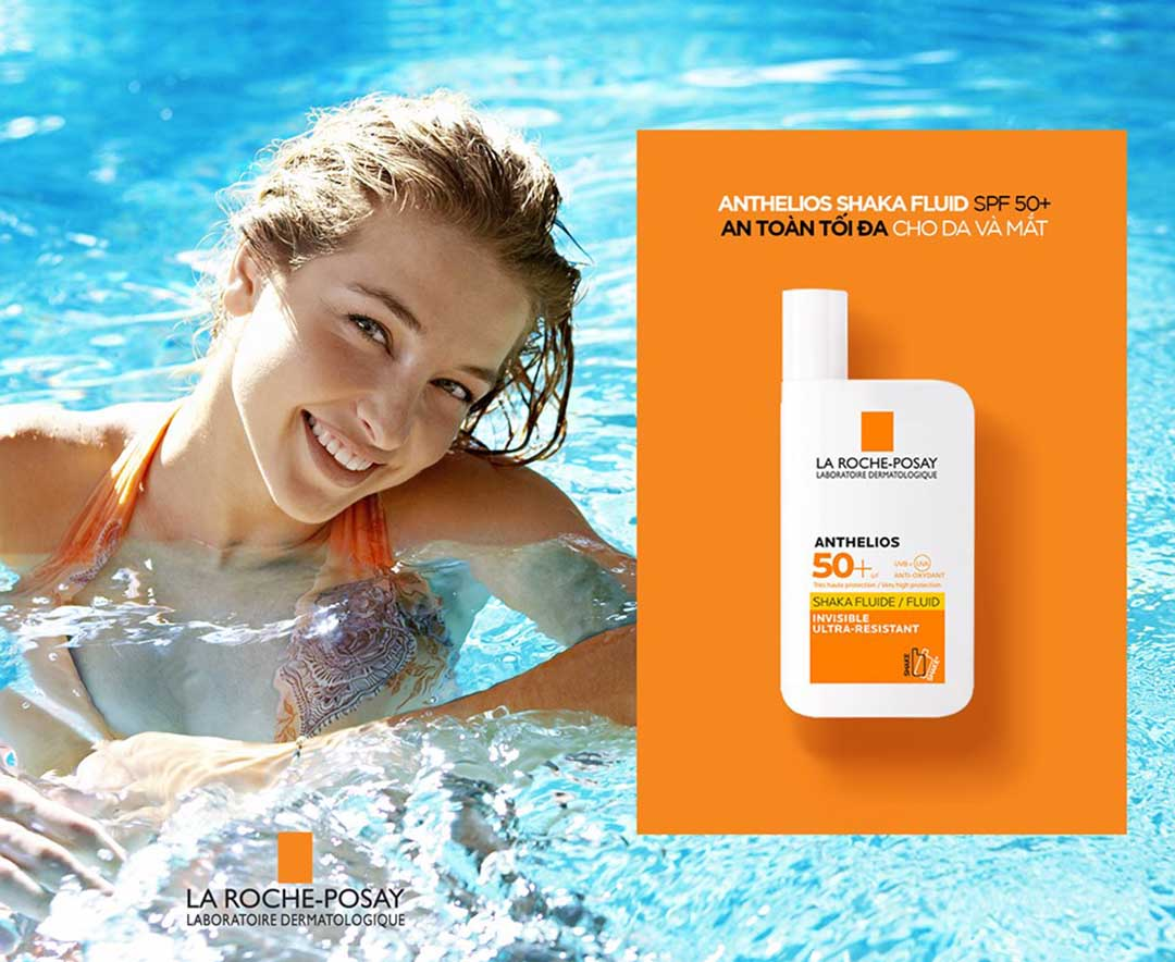 Kem chống nắng La Roche-Posay Anthelios XL SPF 50+ Fluid  Vivalust.vn