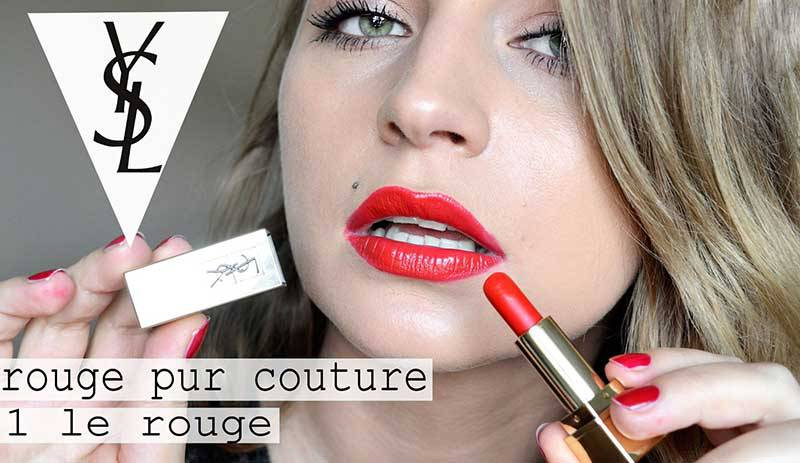 Son YSL Rouge 01