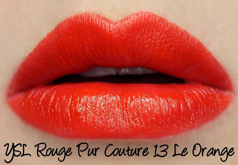 Sắc son YSL Rouge 13 LE ORANGE