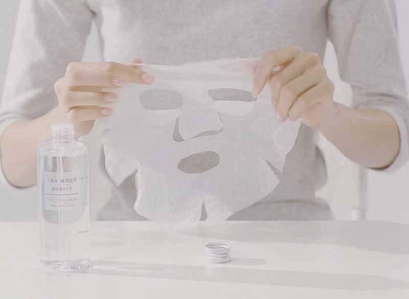 Mặt nạ giấy nén Muji