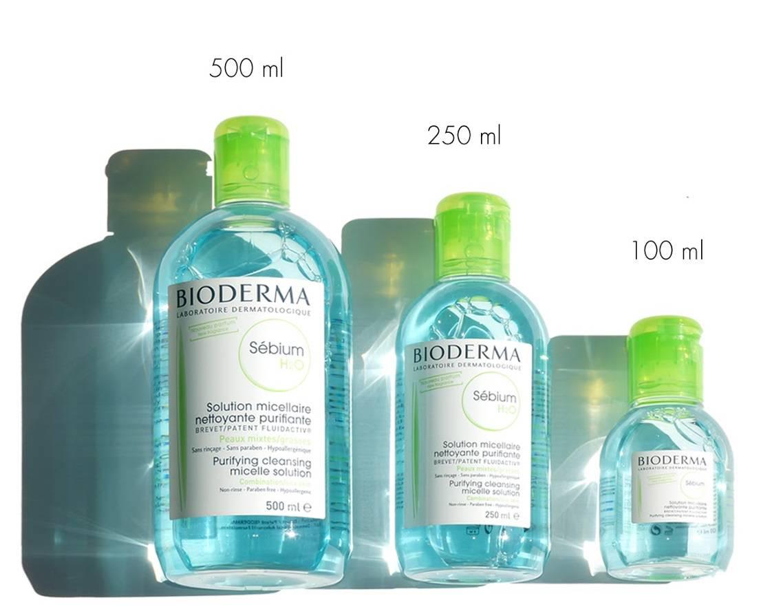 nước tẩy trang bioderma sebium