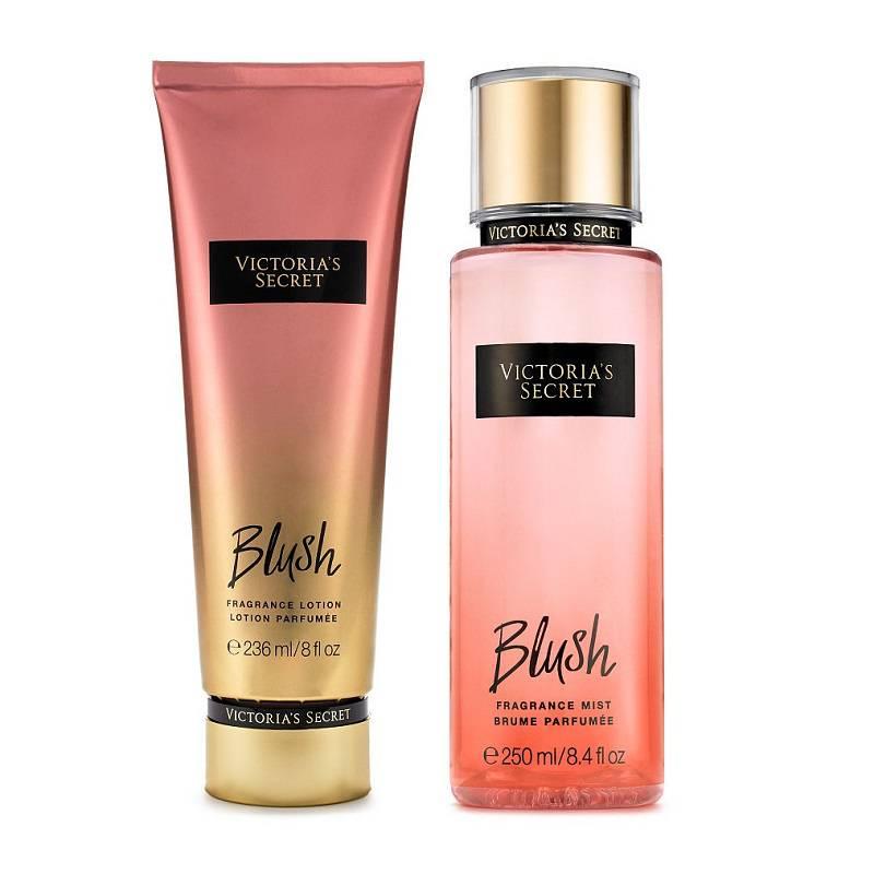 Xịt thơm toàn thân BLUSH và kem dưỡng da BLUSH - Victoria's Secret