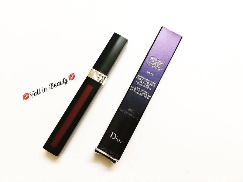 Son Kem Lì Dior Rouge Liquid 828