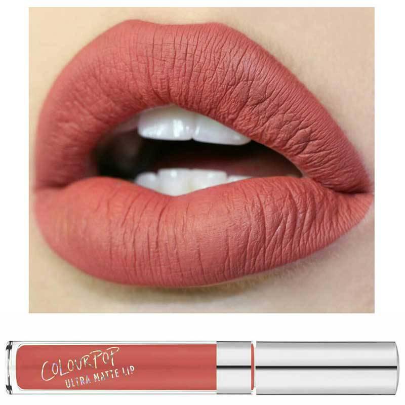 Son môi màu hồng đất