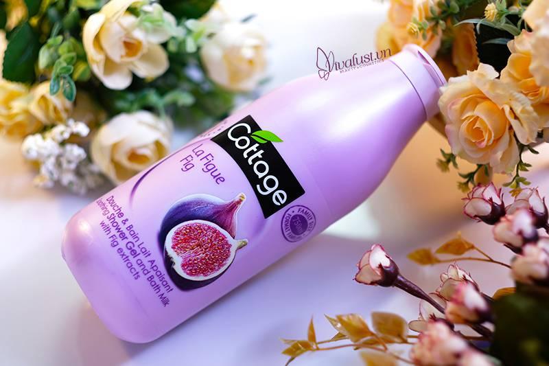 Sữa tắm Cottage Fig hương Ổi đỏ - Chai 750ml sài thả ga
