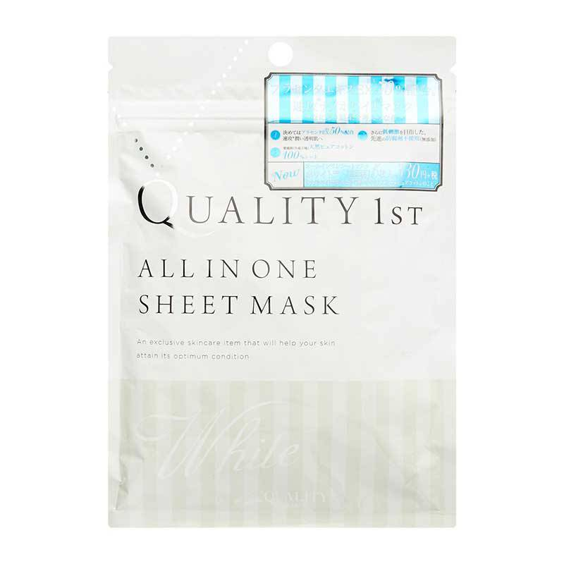 Mặt nạ Quality 1st All in One Sheet Mask xanh