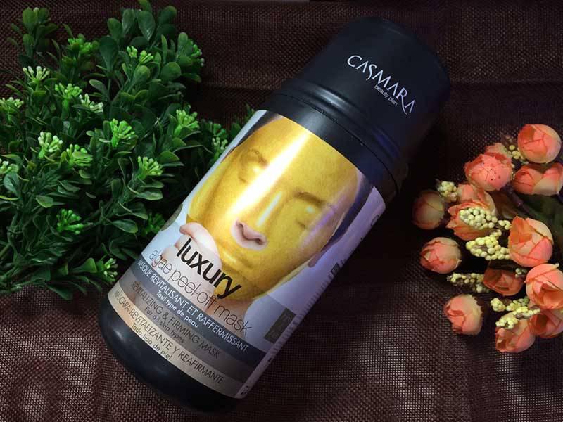 Mặt nạ vàng 24K Casmara Luxury Algae Peel-Off Mask