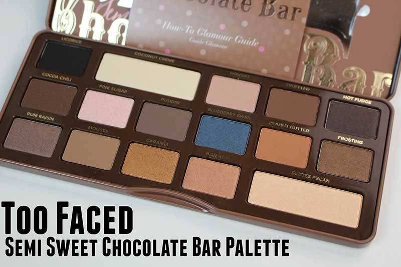 Phấn mắt Too Faced Semi Sweet Chocolate Bar