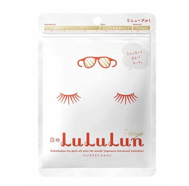 Mặt nạ Lululun màu trắng