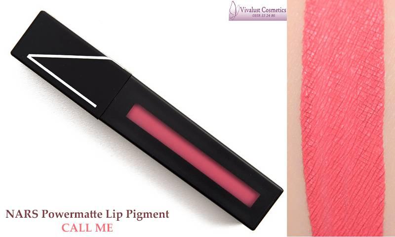 Son NARS Powermatte Lip Pigment màu Call Me