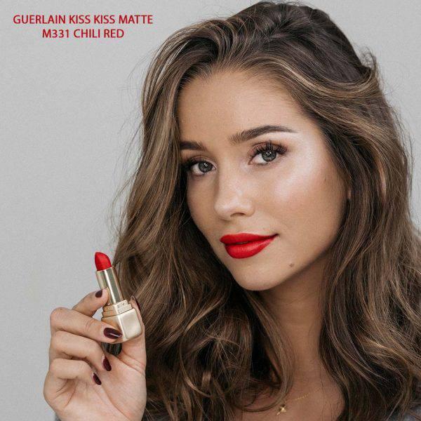 Son-Guerlain-Kiss-Kiss-Matte-mau-M331-Chili-Red-Vivalust.vn-4.jpg
