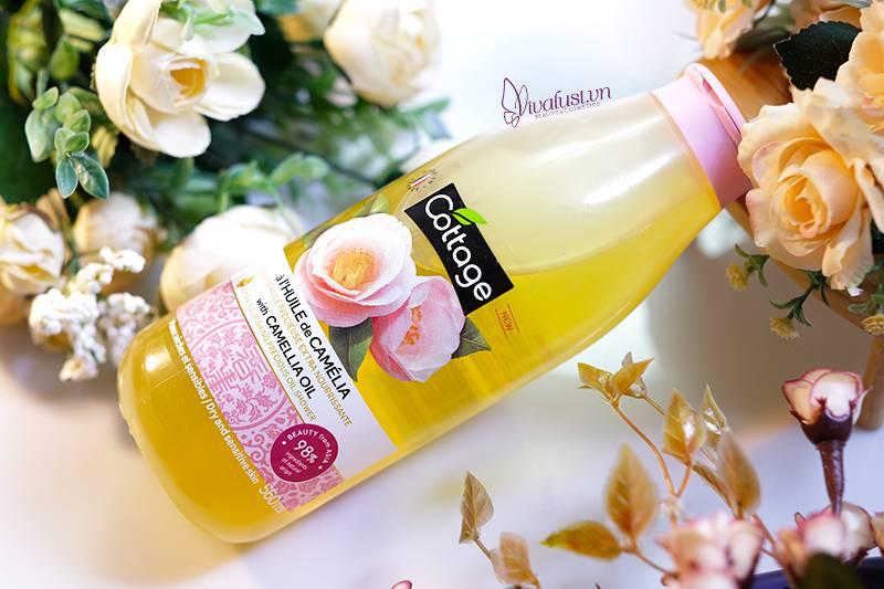 Sữa tắm Cottage chiết xuất từ tinh dầu Hoa Trà Camellia cao cấp