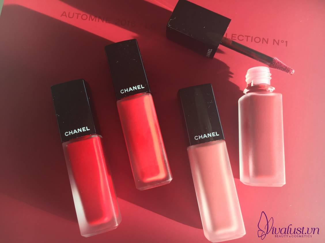 Màu sắc đa dạng của son Chanel | Vivalust