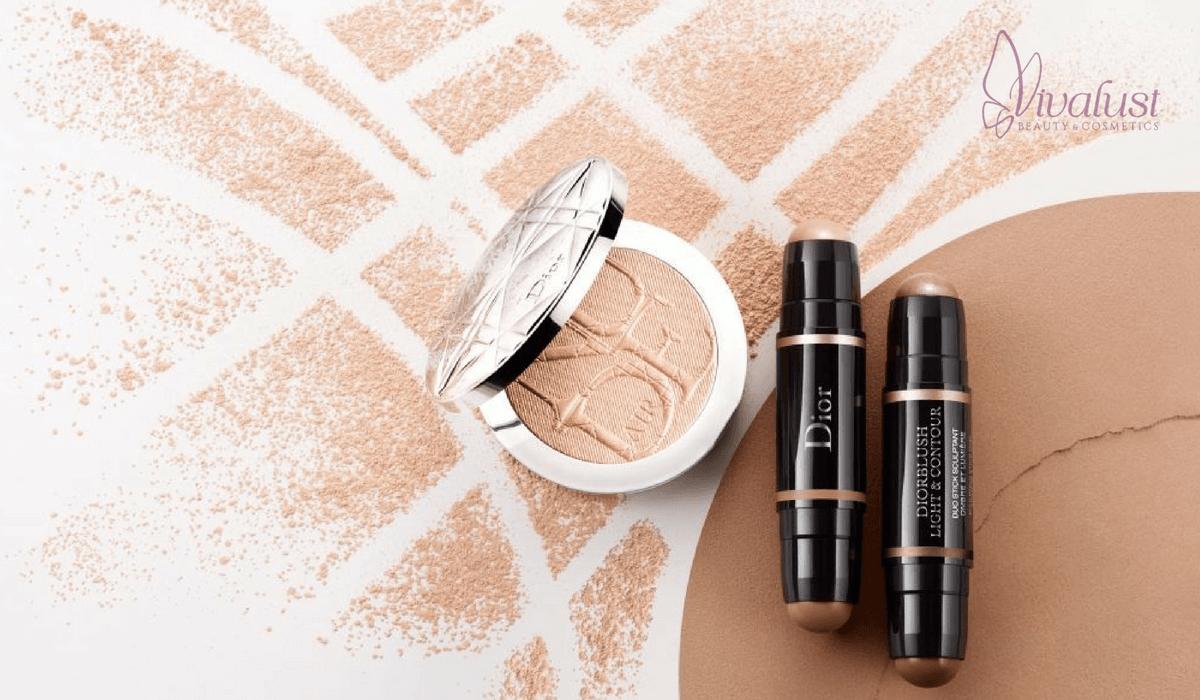 Phấn phủ kiềm dầu Dior | Vivalust